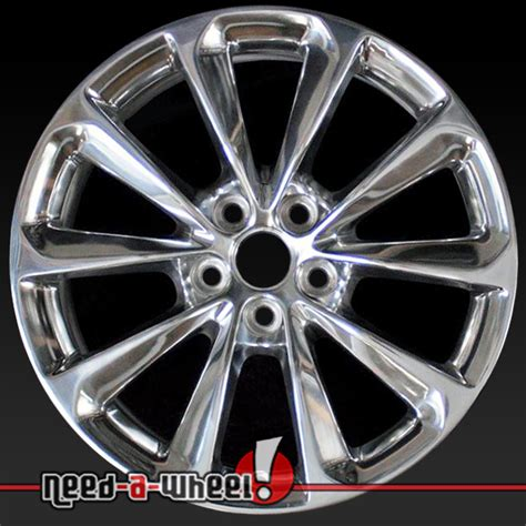 cadillac xts wheels 19 quot cadillac xts oem wheels 2013 2014 13 14 polished alloy