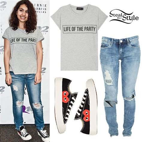 madison beer official merch alessia cara party tee heart sneakers steal her style
