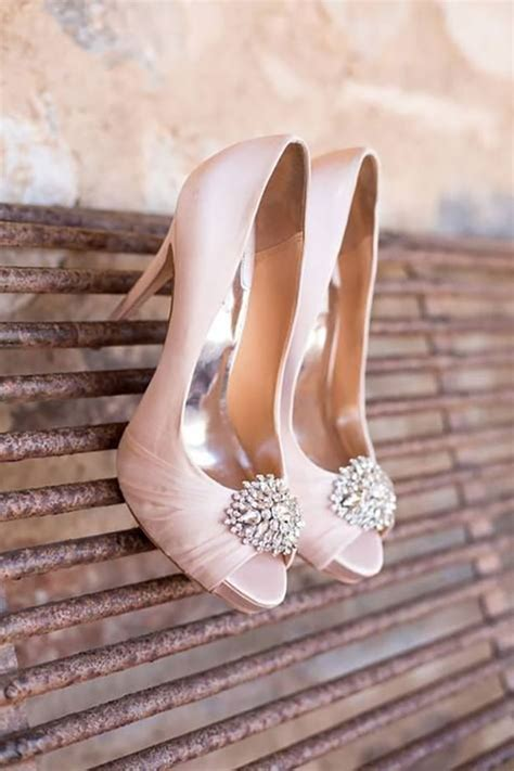 Blush Pink Bridal Shoes by Blush Pink Wedding Ideas Confetti Co Uk