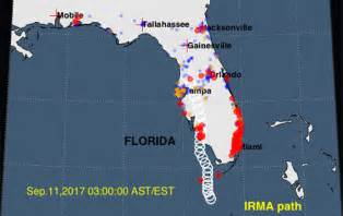 Monash Mba Fees by Mapping Hurricane Irma S Impact Using Real Time