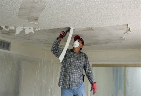 How To Remove Painted Popcorn Ceilings Best Method Under 20 How To Scrape Ceiling