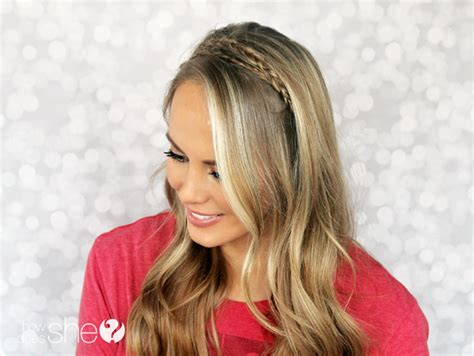 how to do a headband braid step by step how to braided headband tutorial step by step