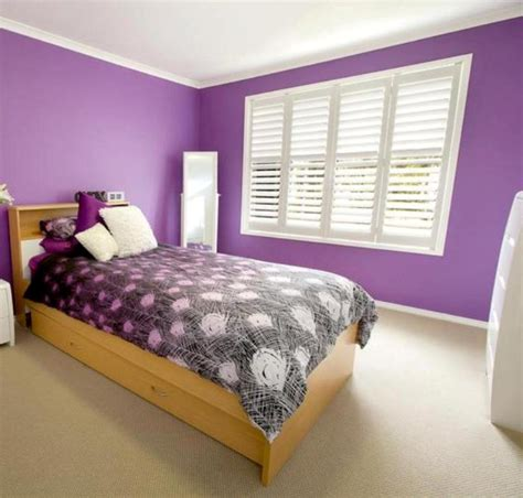 Bedroom Color Schemes Purple Room Colour Combination With Purple