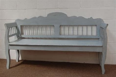 antique settle bench antique painted pine country settle bench 51434 sellingantiques co uk