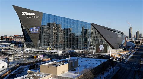U S Bank Stadium Home Of Bowl 2018 Is The Future