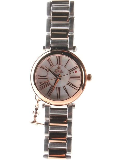 vivienne westwood orb s analogue silver