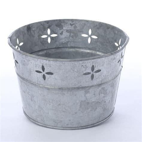 galvanized steel bathtub galvanized metal tub baskets buckets boxes home decor