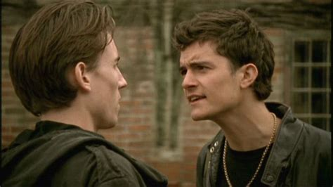 orlando bloom on midsomer murders before donning blonde tresses and pointed ears to