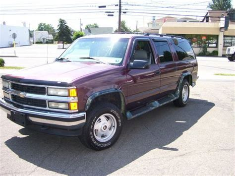 how cars engines work 1996 chevrolet suburban 1500 parental controls sell used 1996 chevrolet suburban 4x4 k1500 ice cold ac 3rd row seat in pittston pennsylvania
