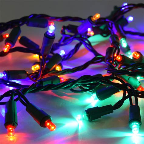 multi color led lights 60 multi color led garland lights