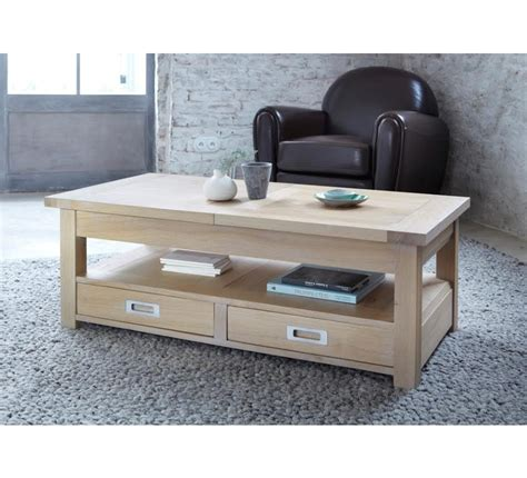 Table Basse En Chene Massif by Table Basse Chene Massif 3706