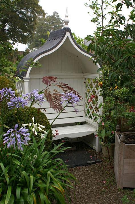 covered garden bench 67 best garden bench decor images on pinterest gardening