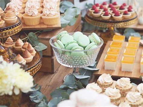 allestimento tavolo matrimonio dulcis in fundo come allestire il tavolo dei dolci per il
