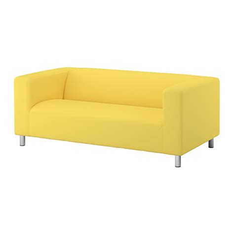 yellow loveseat slipcover ikea klippan loveseat sofa slipcover cover vissle yellow