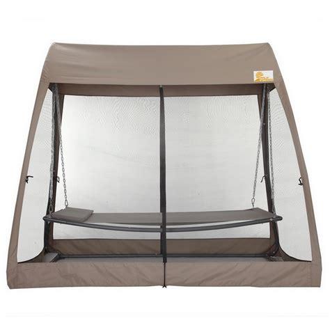 hammock swing bed palm springs garden hammock set outdoor swing bed w mesh