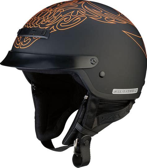 motorcycle helmets and gear 79 95 z1r nomad tribal half helmet 1030428