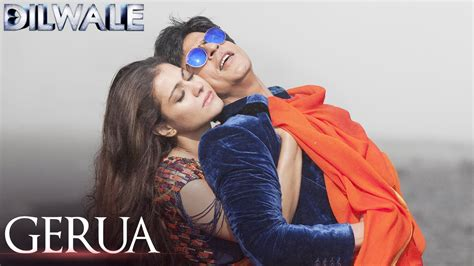 full hd video of dilwale gerua dilwale hd video song shah rukh khan kajol