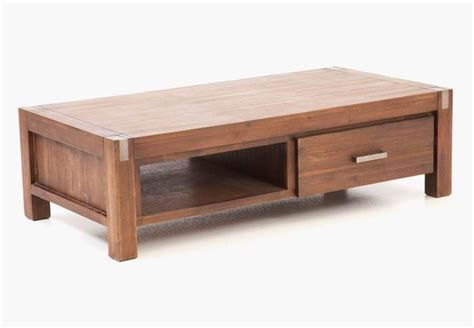 wooden coffee table storefront