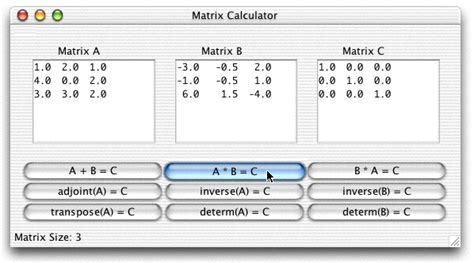 calculator matrix inverse of a 3 215 3 matrix calculator amanin