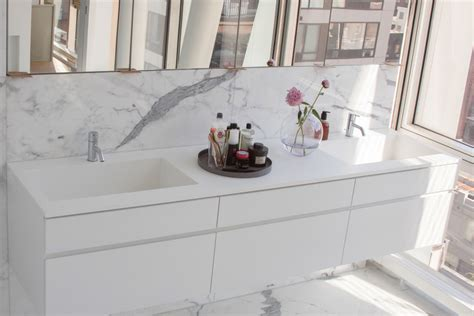 corian vanity hl23 bathroom sterling surfaces solid surface