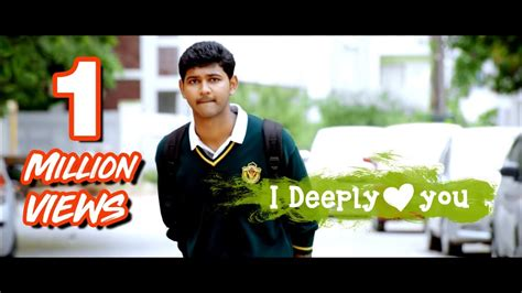one day love short film i deeply love you heart touching love short film telugu