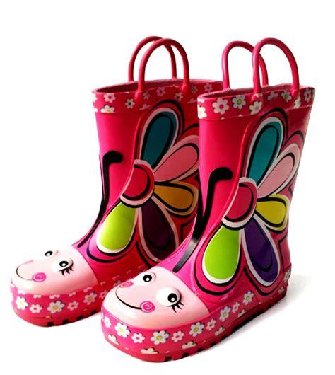 Sepatu Boots Pink Anak Perempuan Karakter Princess Cxb347 sepatu boot anak karakter toko bunda