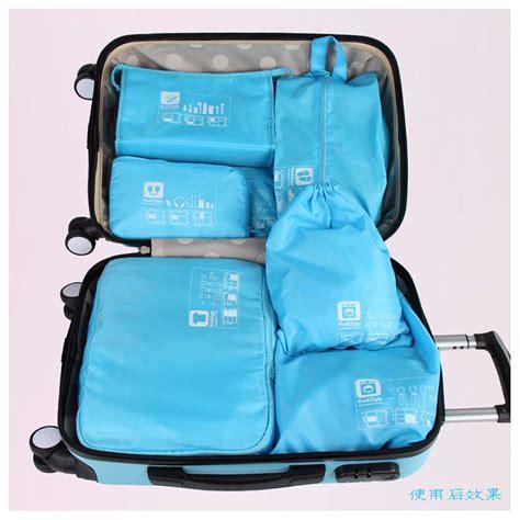 5 In 1 Tas Travel Bag In Bag Storage Baju Celana Koper Best Seller tas travel bag in bag organizer pakaian 7 in 1 blue jakartanotebook
