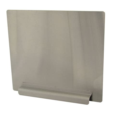 commercial sink splash guard advance tabco k 700 12 quot removable side splash for nsf sink