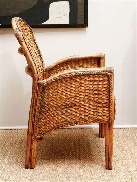 vintage wicker chair vintage wicker chair at 1stdibs