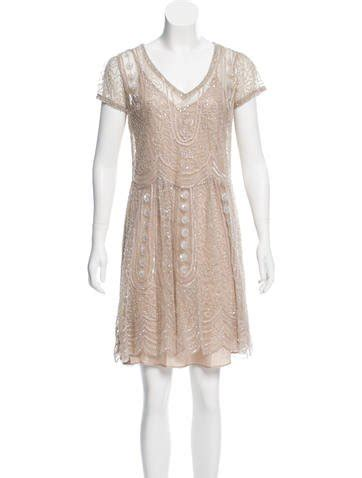 Mini Batik Dress Pre Owned luxury consignment sales shop for pre owned designer