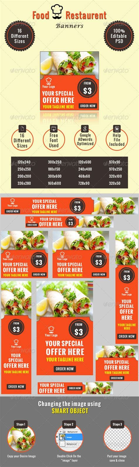 food banner template food restaurant banners restaurant banners and banner