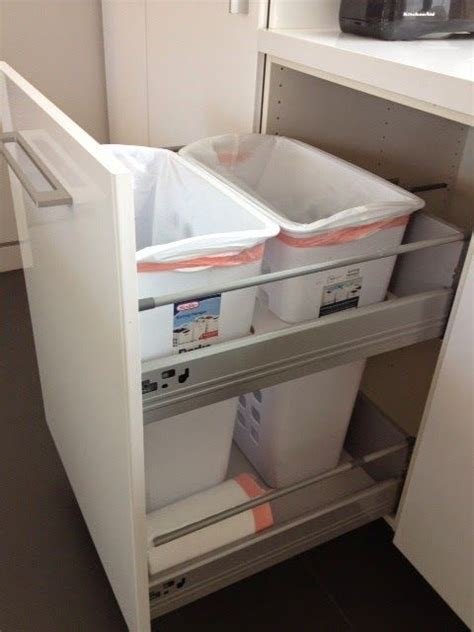 perfect ikea recycle bins homesfeed non flimsy full height 24 quot wide recycling and trash
