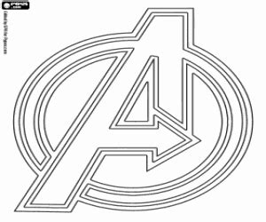 avengers logo coloring page avengers coloring pages printable games