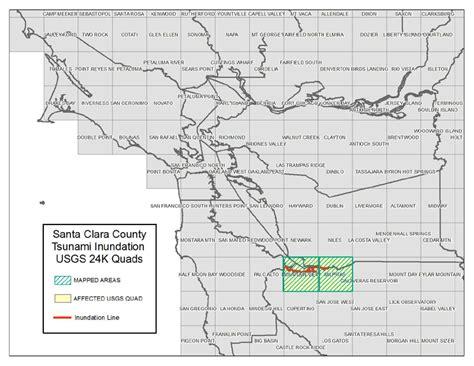 san jose geologic map santa clara santa clara county tsunami inundation maps