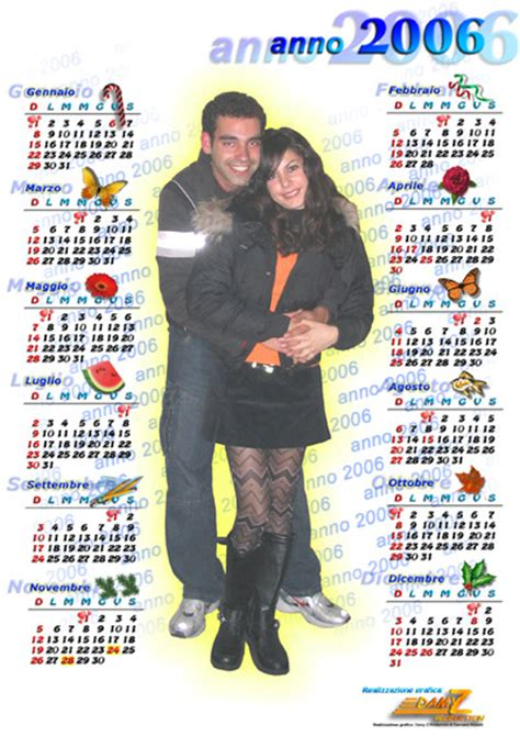 Calendario Ano 2006 Calendari Noemi Anno 2006