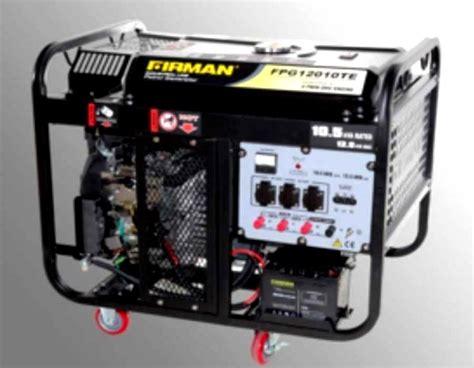 10 Kva Generator Bensin by Genset Firman 10kva Fpg12010e Generator Pembangkit Listrik