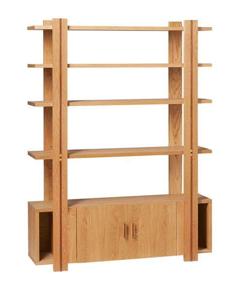 oak room divider shelves oak finish storage shelf room