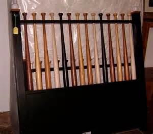 baseball bat headboard