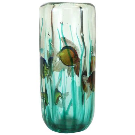 Vase Aquarium by Alfredo Barbini Aquarium Vase With Light Base Pauly And