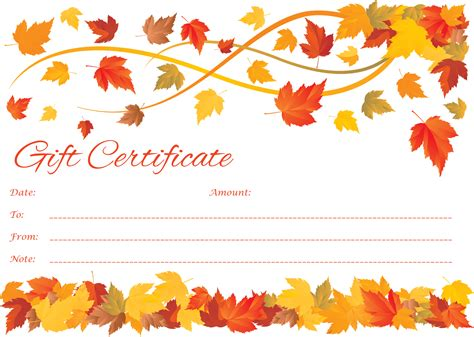 gift certificate template powerpoint gift certificate template
