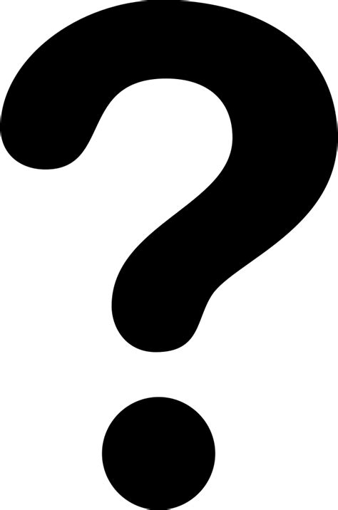 Question Mark Svg Png Icon Free Download (#29382