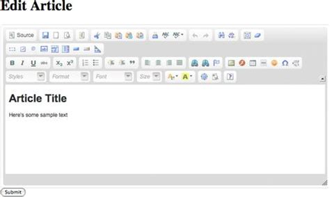 javascript tutorial rich text editor adding a rich javascript html editor to your site