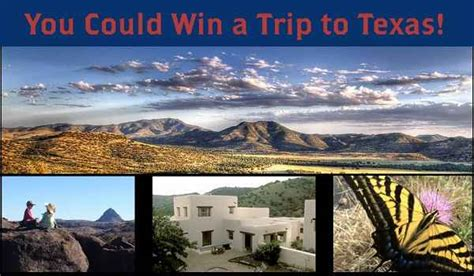 Sweepstakes In Texas - 2015 west texas adventure sweepstakes sweepstakesbible