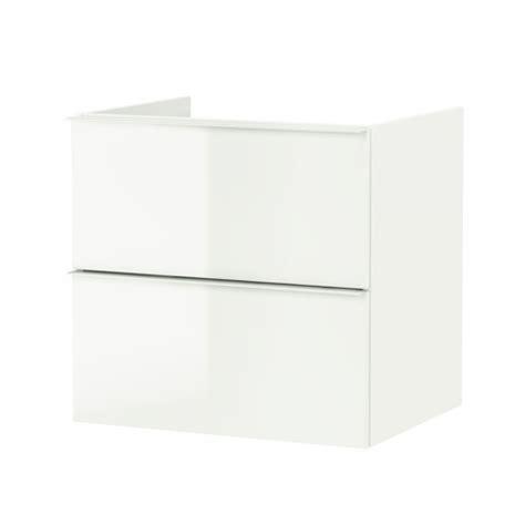 mobile lavabo bagno ikea godmorgon mobile per lavabo con 2 cassetti lucido bianco