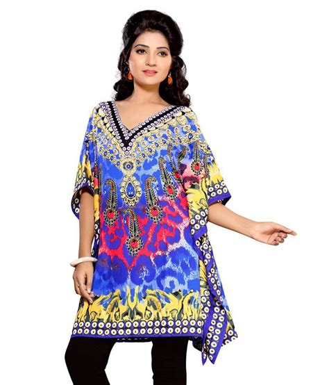 Gamis Crepe India 36 buy kurtiz multi poly crepe kaftans at best prices in india snapdeal