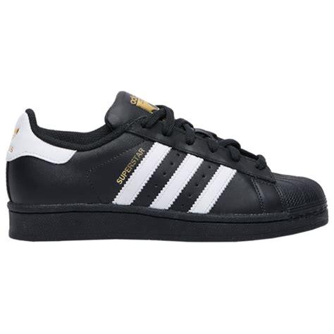 adidas originals superstar boys grade school casual shoes black white black