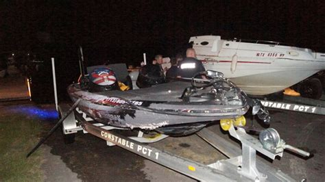 boat crash bass lake boat crash on lake conroe claims lives