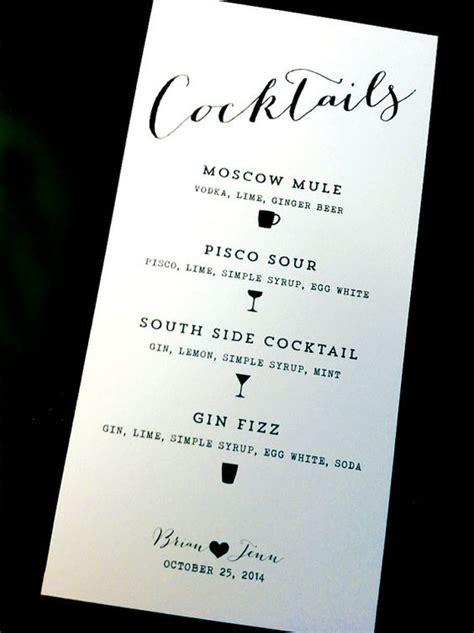 cocktail menu ideas the world s catalog of ideas