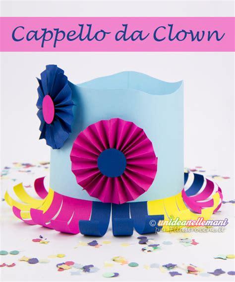 come fare un ladario fai da te cappello da clown come si fa carnevale su filastrocche it