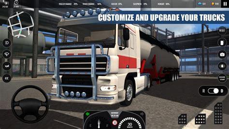 download game euro truck simulator mod apk truck simulator pro europe 1 1 a2z p30 download full